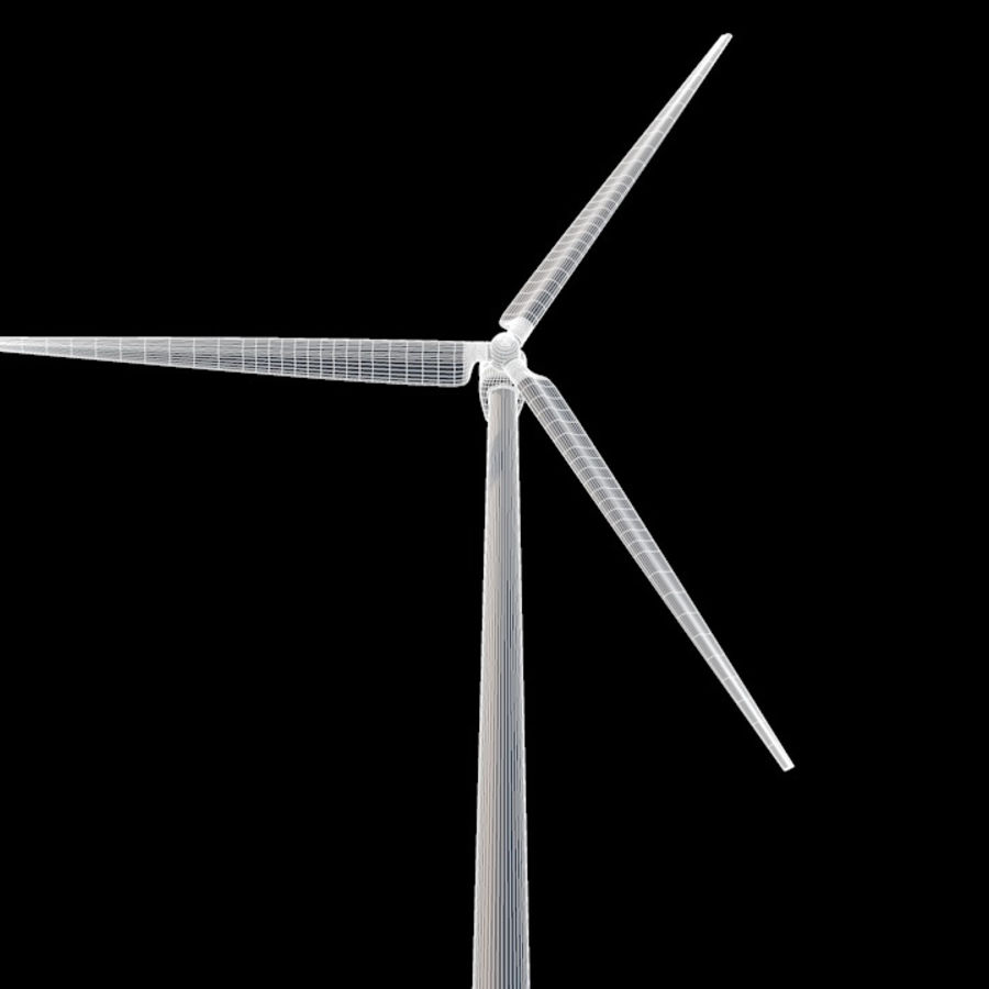 Wind Turbine royalty-free 3d model - Preview no. 8
