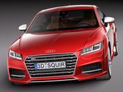 Audi TTS Coupe 2015 3d model