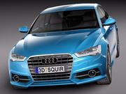 Audi A6 Sedan 2015 3d model
