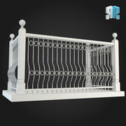 Balcony 005 3d model