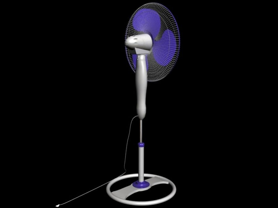 3d model of fan machine(1) royalty-free 3d model - Preview no. 2