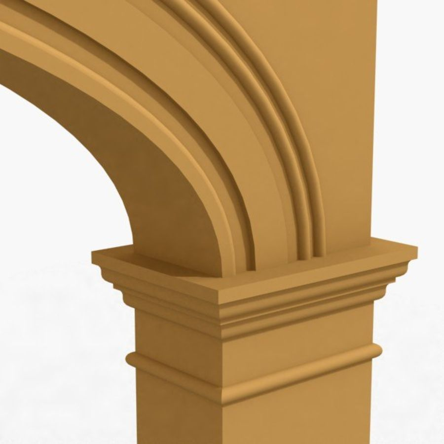 Arch 006 15ft - C1X1 royalty-free 3d model - Preview no. 4