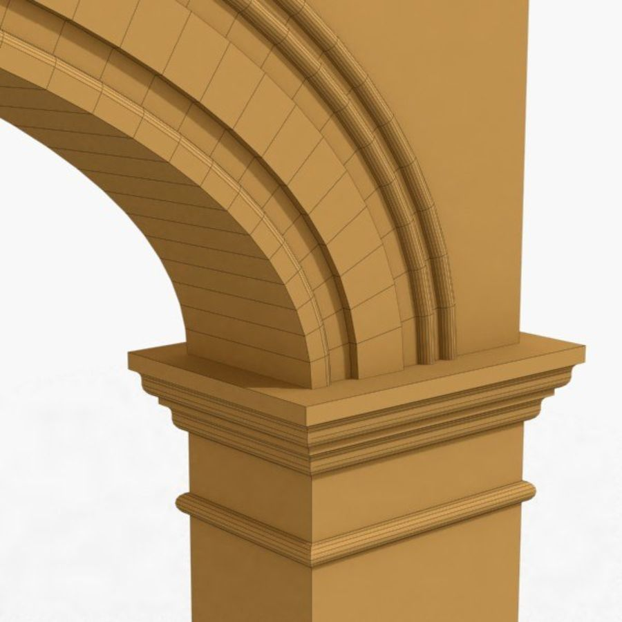 Arch 006 15ft - C1X1 royalty-free 3d model - Preview no. 6