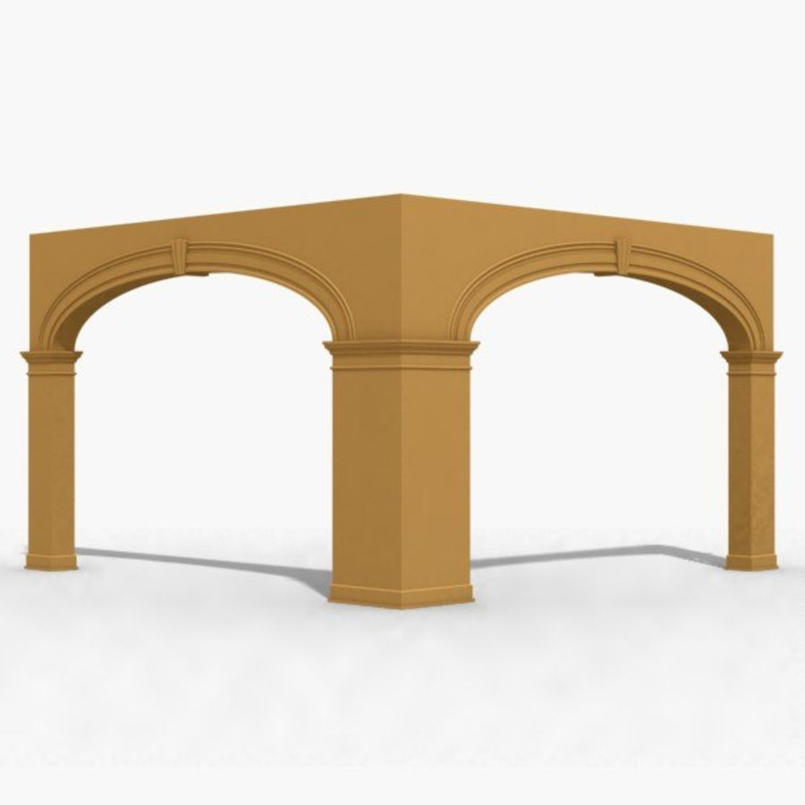 Arch 006 15ft - C1X1 royalty-free 3d model - Preview no. 1