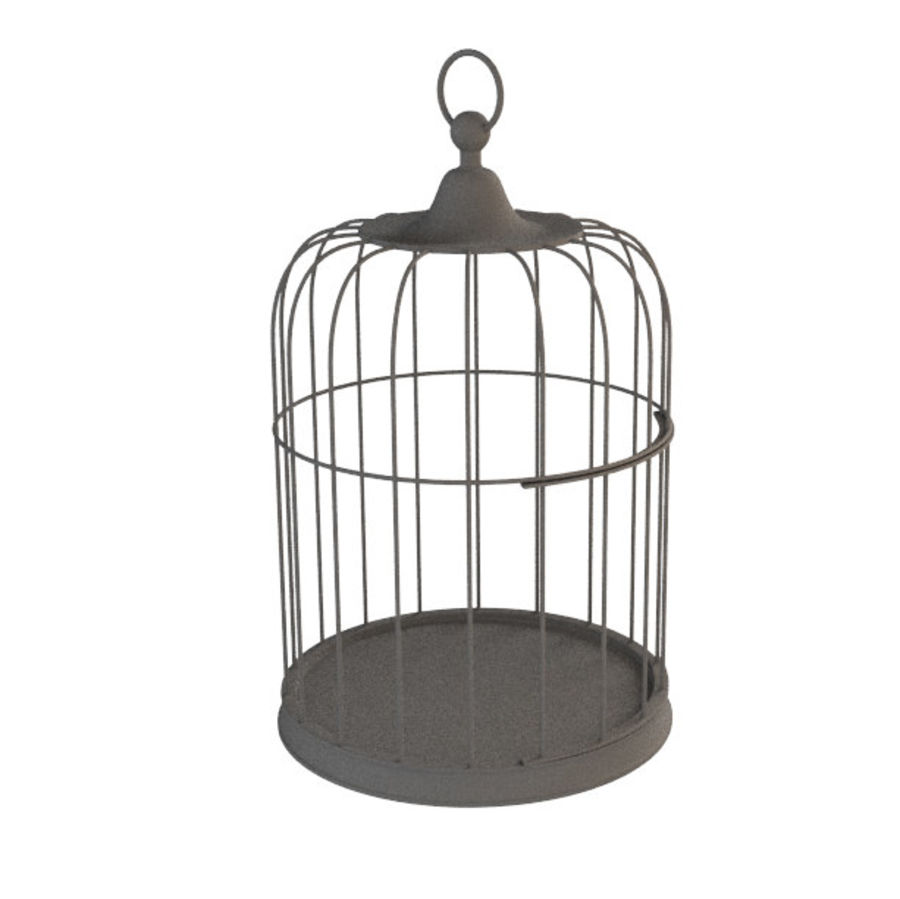 Cage à oiseaux royalty-free 3d model - Preview no. 5
