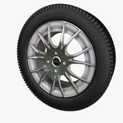 hjul 3d model