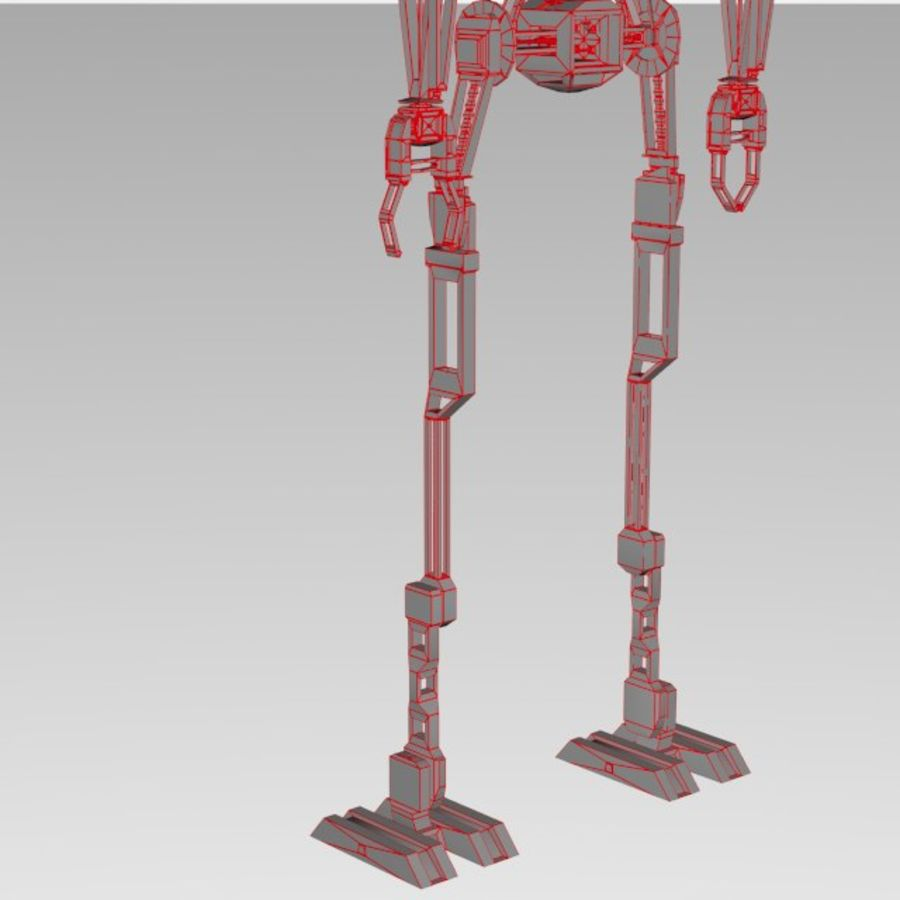 Robot rigged royalty-free 3d model - Preview no. 15
