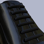 Herenschoenen High Res HD Leather 3d model