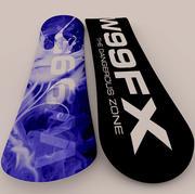 Snowboard FX modelo 3d