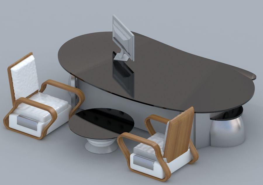 Silla, Mesa De Oficina, Sofá, Muebles De Oficina royalty-free modelo 3d - Preview no. 1