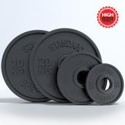Weight Training 3d model