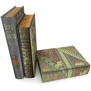 Book Set 2 3d model