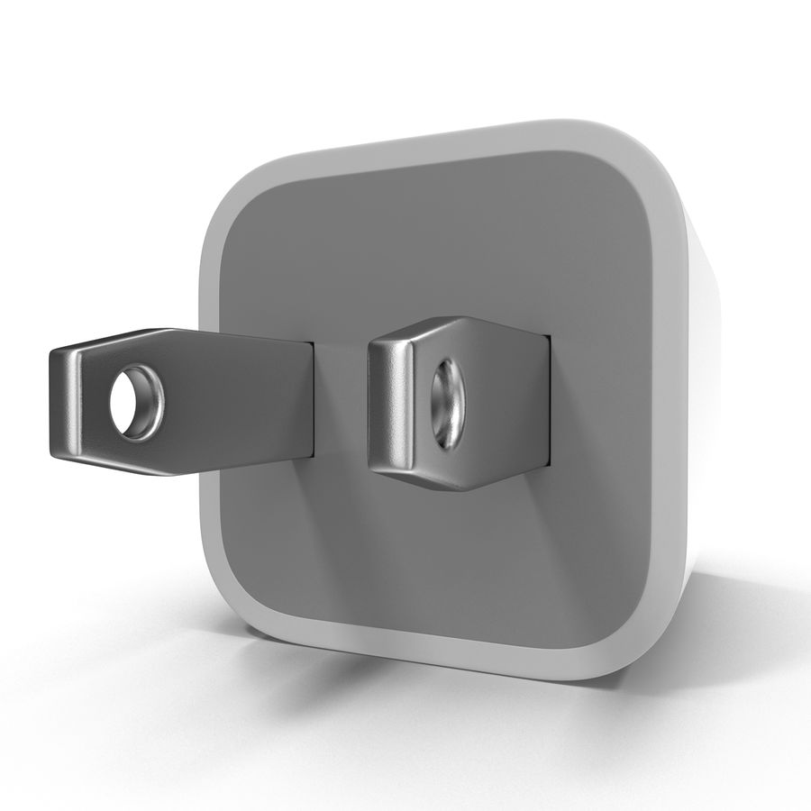 USB-Ladegerät royalty-free 3d model - Preview no. 2
