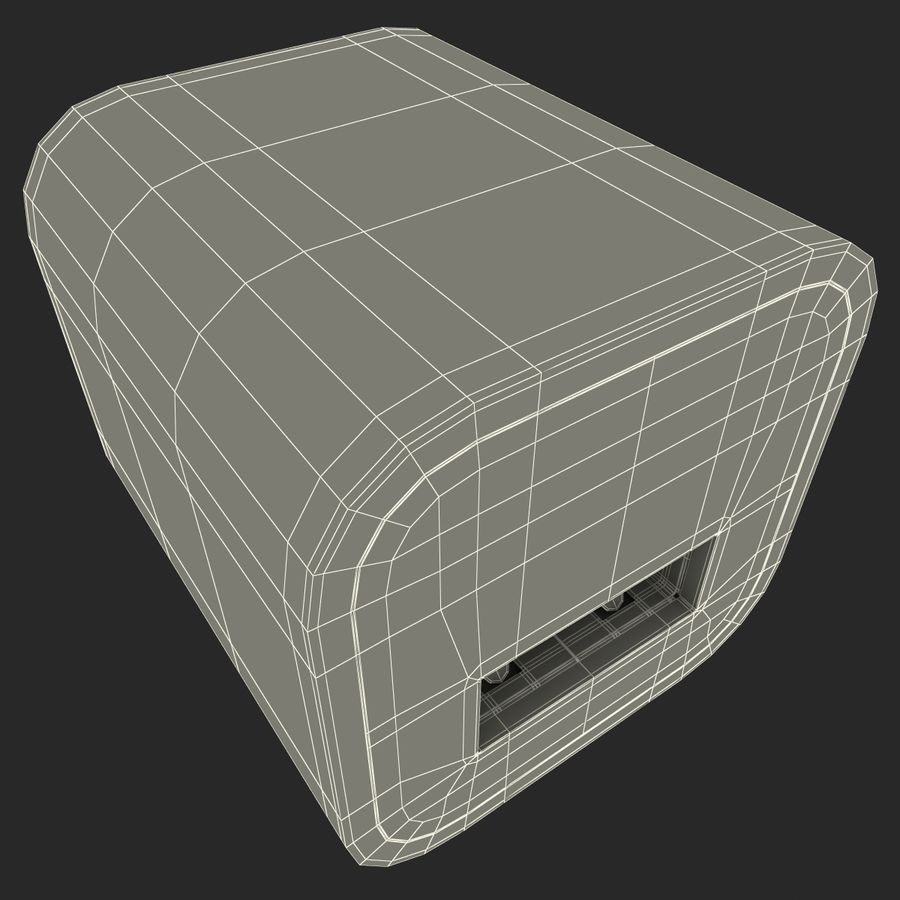 USB-Ladegerät royalty-free 3d model - Preview no. 19