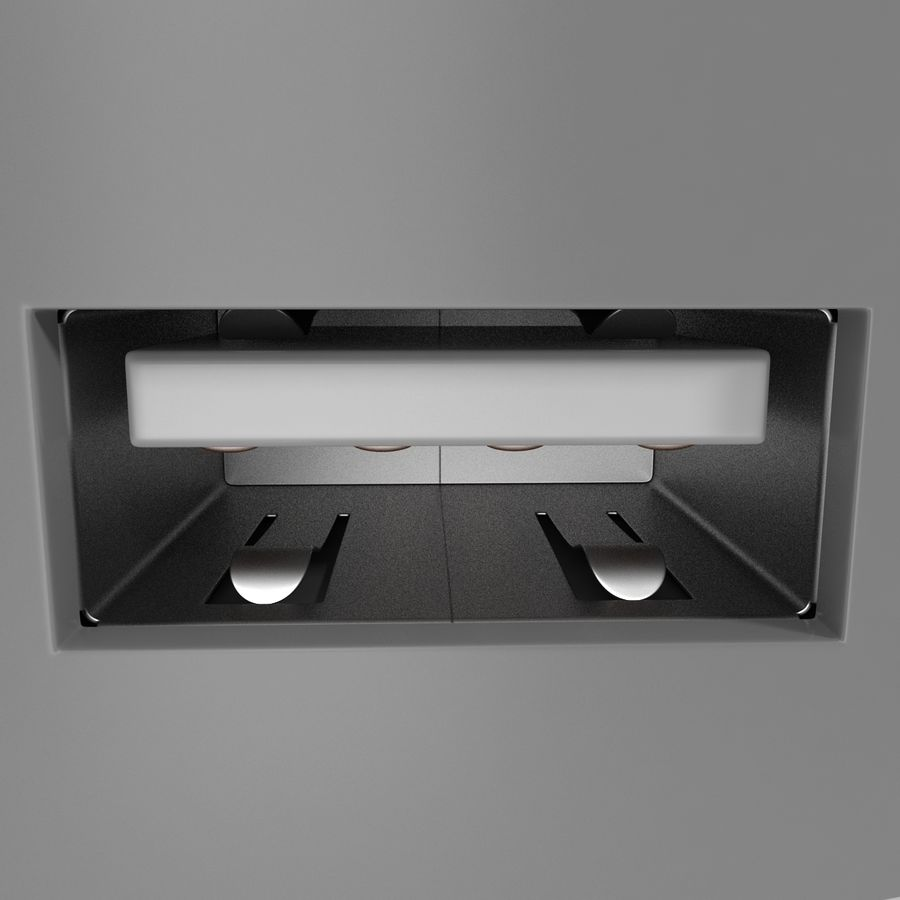 USB-Ladegerät royalty-free 3d model - Preview no. 12