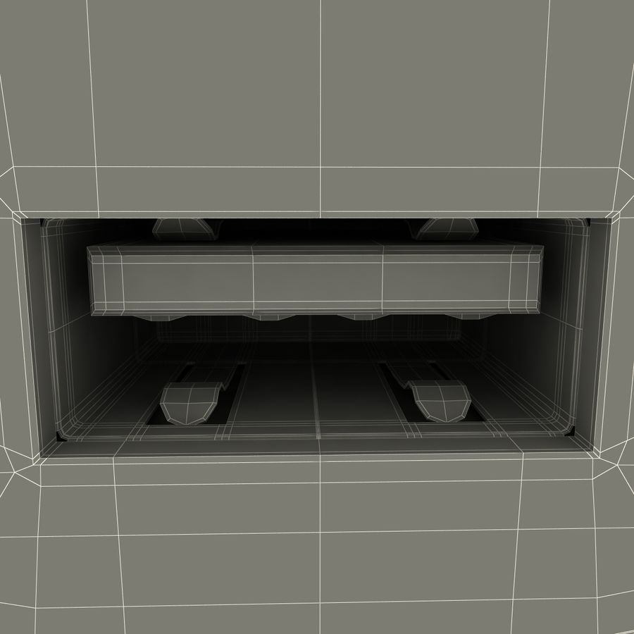 USB-Ladegerät royalty-free 3d model - Preview no. 20