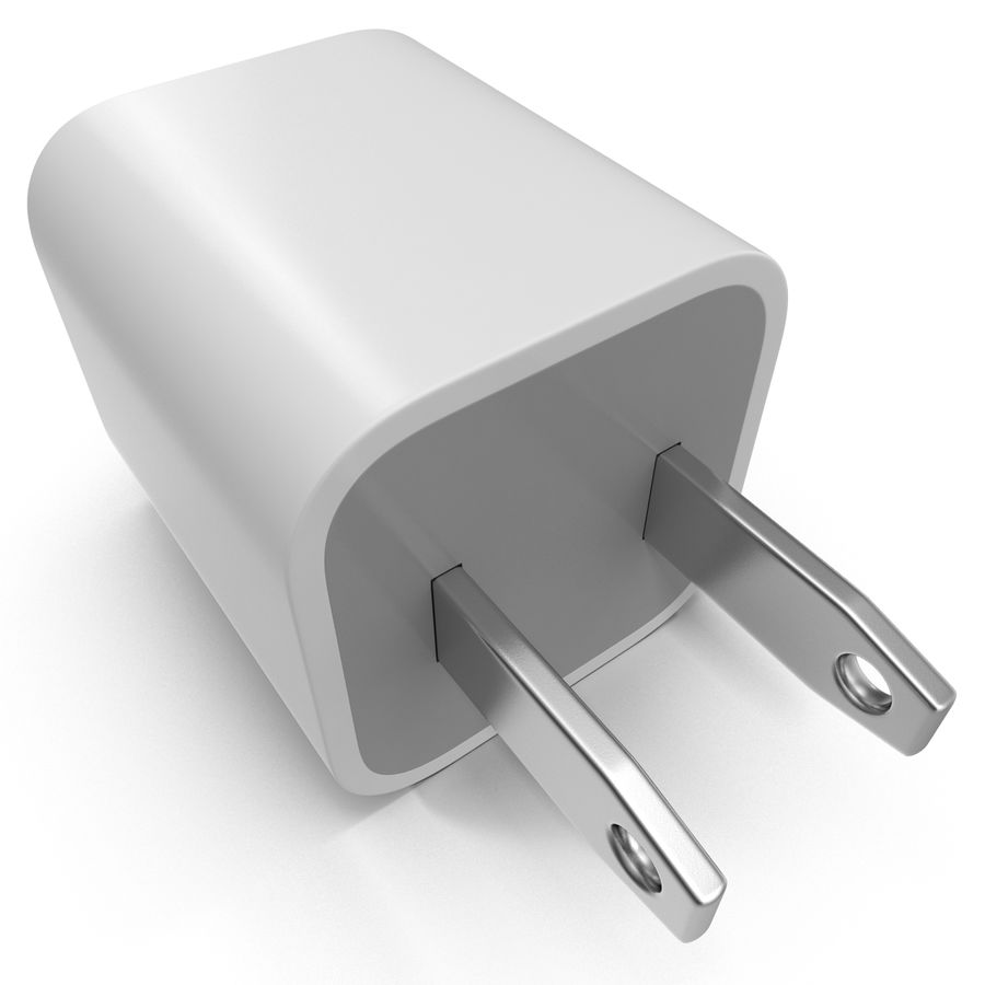 USB-Ladegerät royalty-free 3d model - Preview no. 9