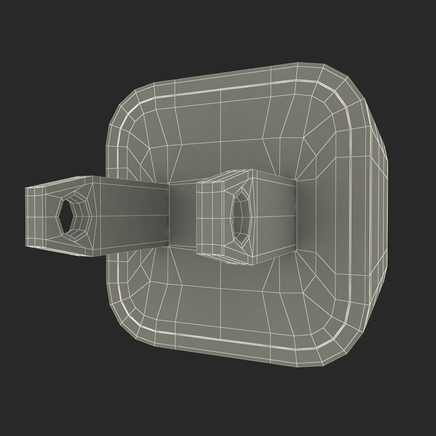 USB-Ladegerät royalty-free 3d model - Preview no. 15