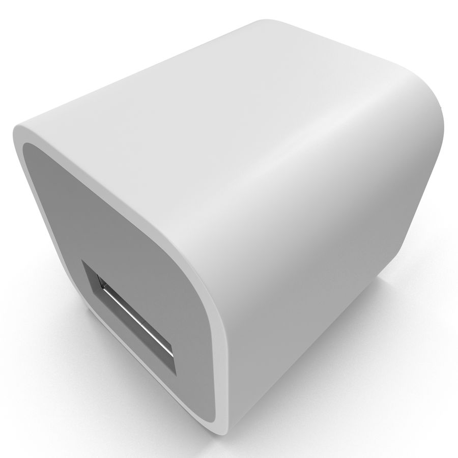 USB-Ladegerät royalty-free 3d model - Preview no. 11