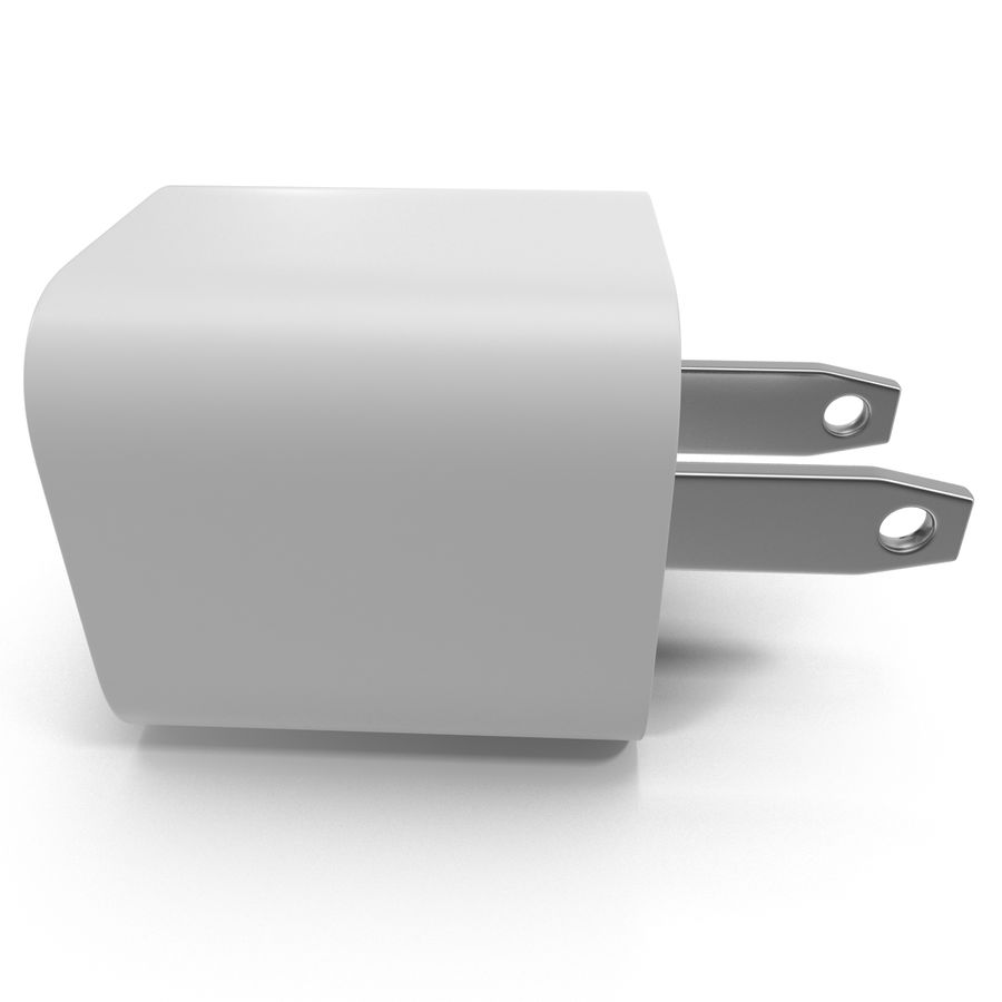 USB-Ladegerät royalty-free 3d model - Preview no. 5