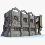 Sci Fi Building J Futuristic 3d model
