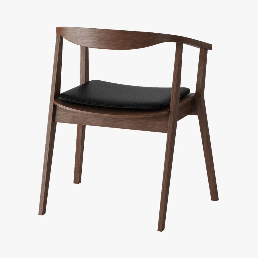 Ikea Stockholm Chair royalty-free 3d model - Preview no. 2