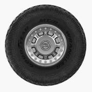 Off Road Wheel For Hummer H1 3d model