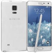 三星Galaxy Note Edge White 3d model