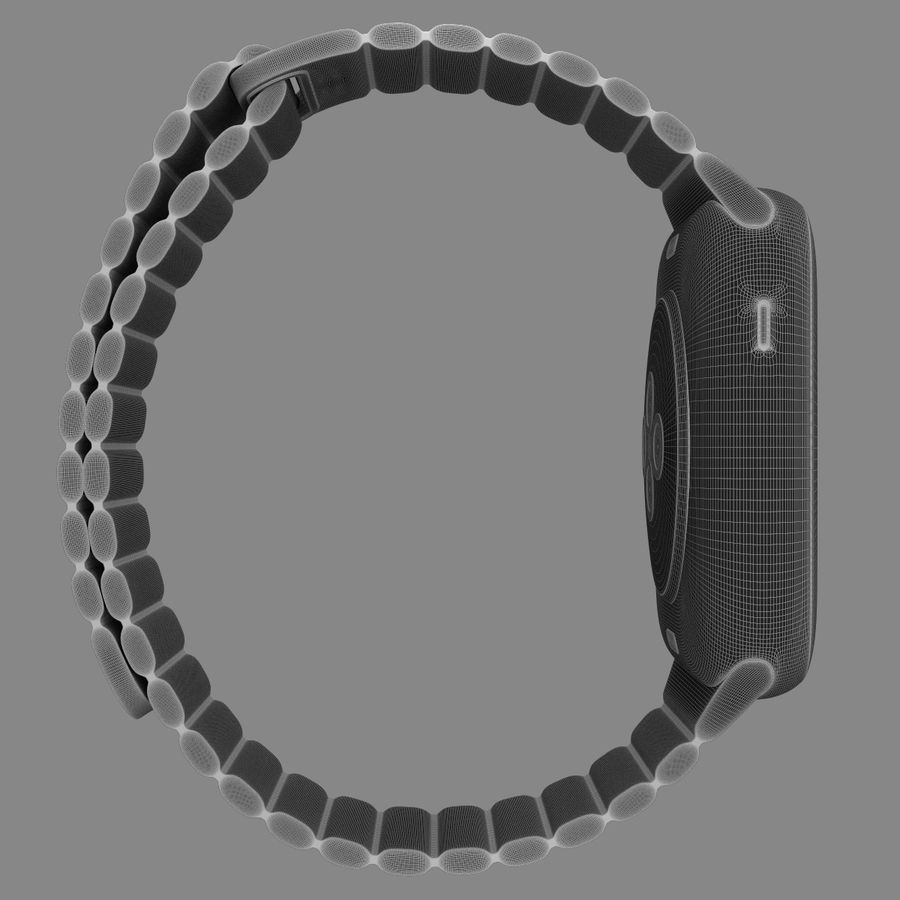 Apple Watch royalty-free 3d model - Preview no. 17