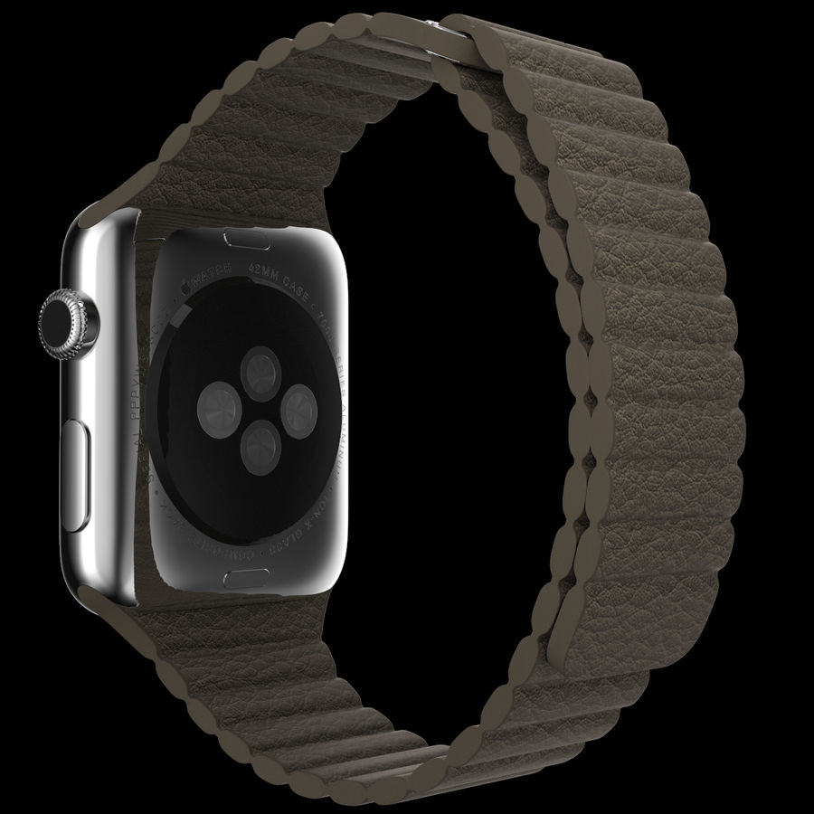 Apple Watch royalty-free 3d model - Preview no. 5