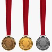Madalya Koleksiyonu 3d model