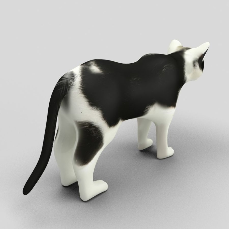 Cat royalty-free 3d model - Preview no. 6