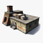 Gieterij kleine buitenkant 3d model