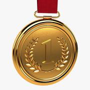 Gold Medal 3d model