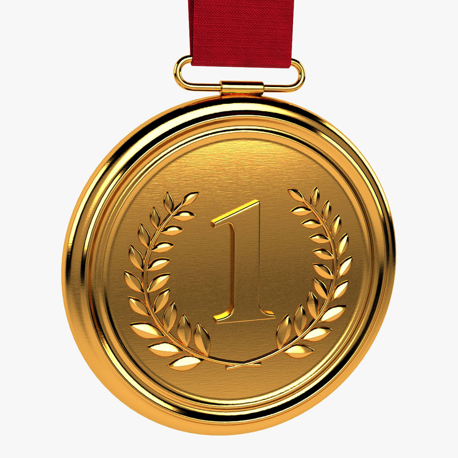 Gold Medal royalty-free 3d model - Preview no. 1