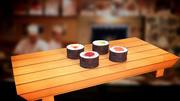 寿司 3d model