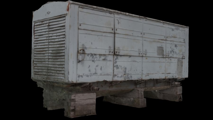 Vehicle royalty-free 3d model - Preview no. 3