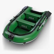 Inflatable Boat 2 3d model