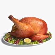 Święto Dziękczynienia Turcji 3d model