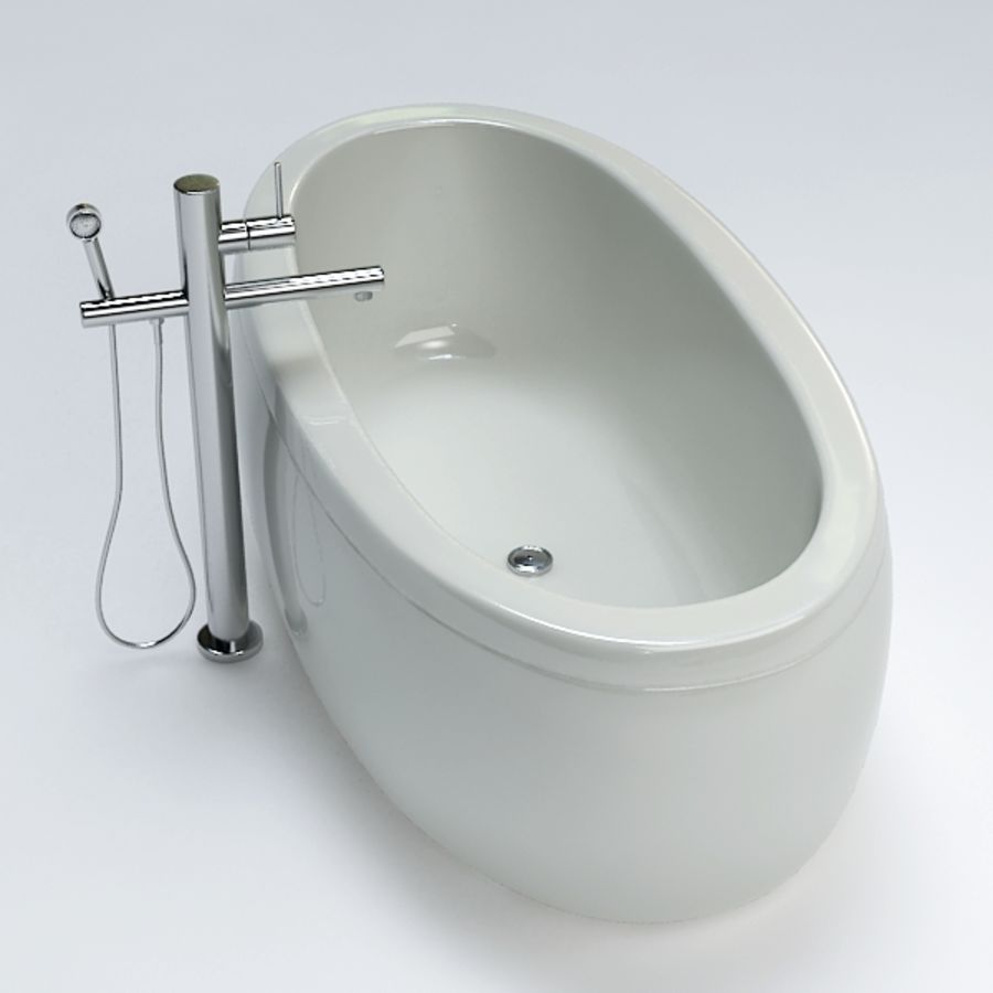 Bath royalty-free 3d model - Preview no. 5