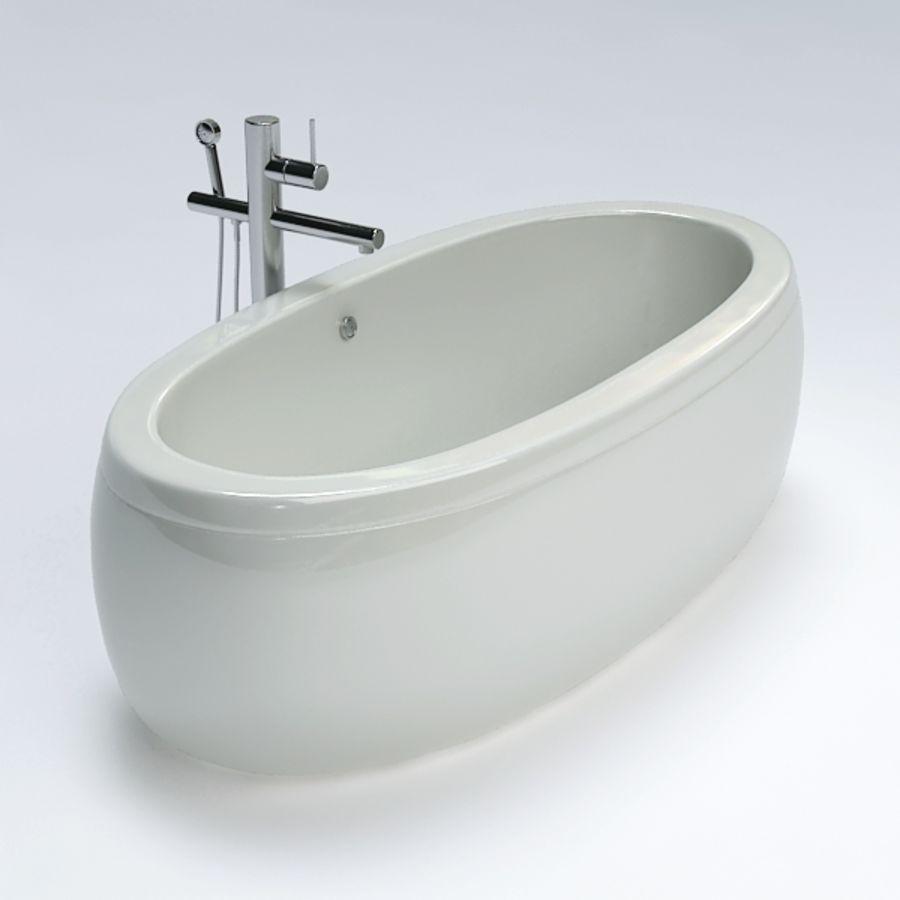 Bath royalty-free 3d model - Preview no. 3
