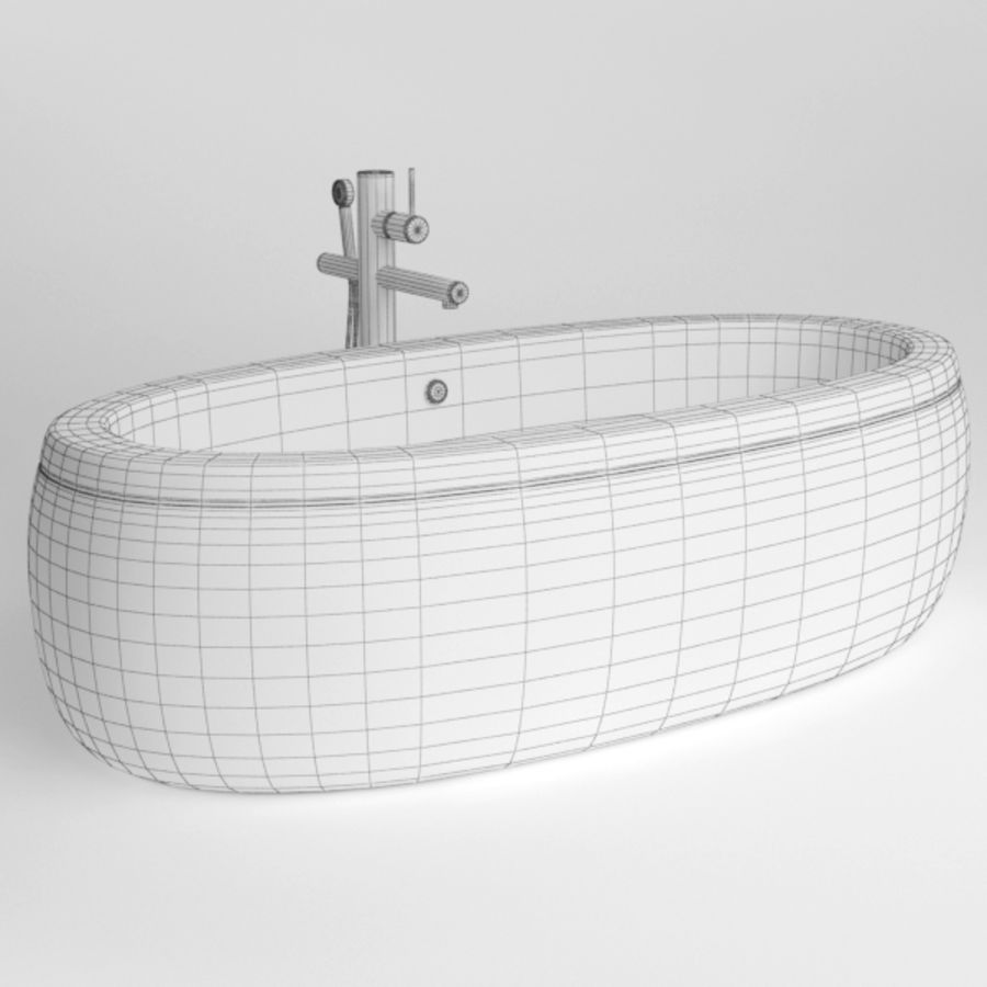Bath royalty-free 3d model - Preview no. 7