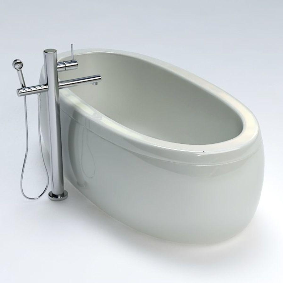 Bath royalty-free 3d model - Preview no. 6