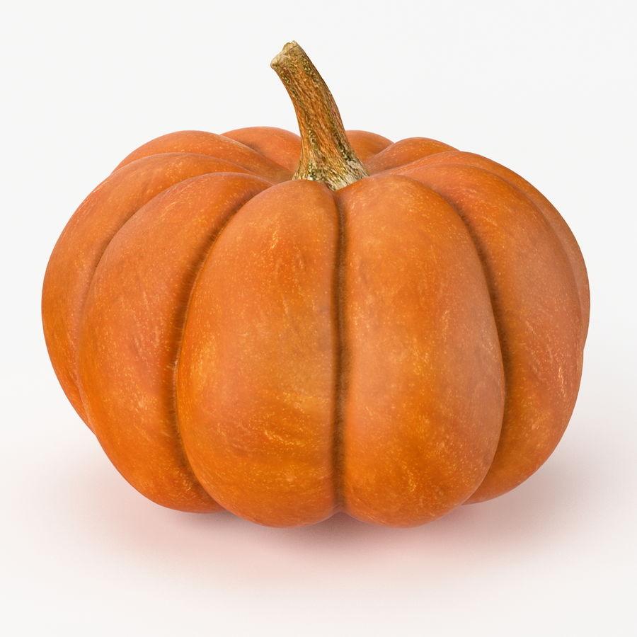 Realistic Pumpkin royalty-free 3d model - Preview no. 1
