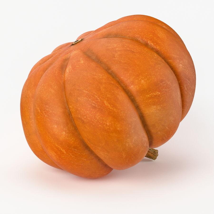 Realistic Pumpkin royalty-free 3d model - Preview no. 5