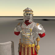ローマの鎧 3d model