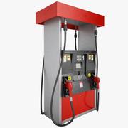 Gas Pump 01 3d model