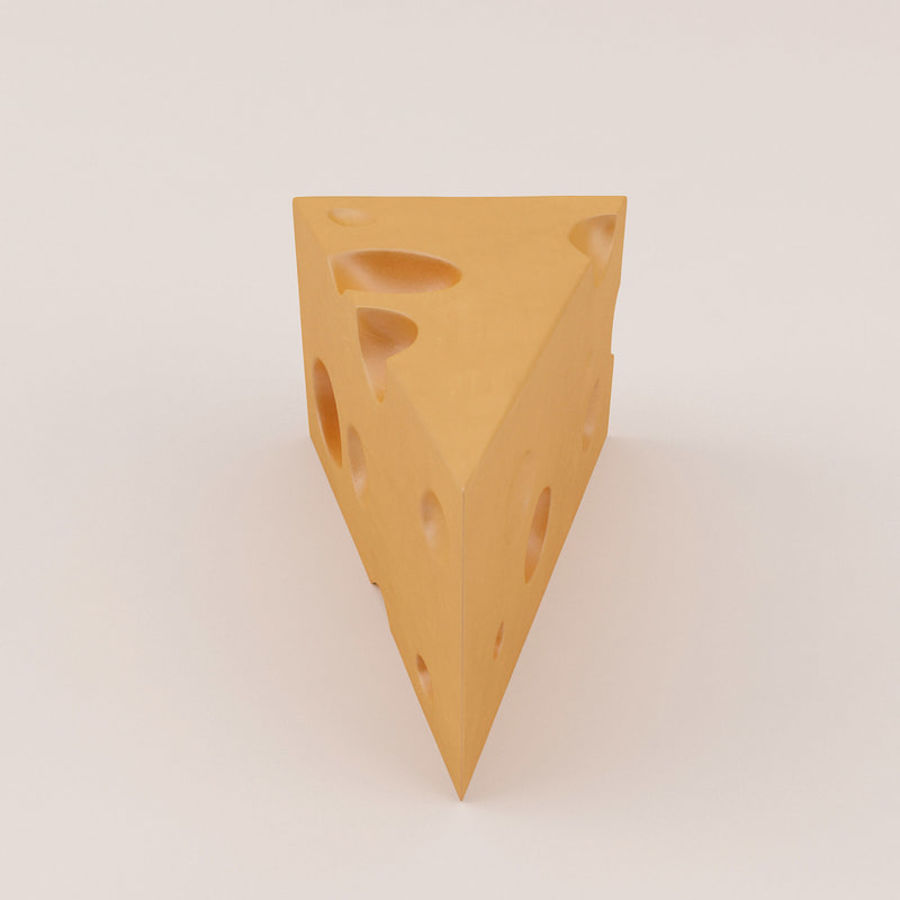 Cheese royalty-free 3d model - Preview no. 9