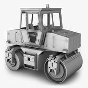 Asfalt Silindiri 3d model