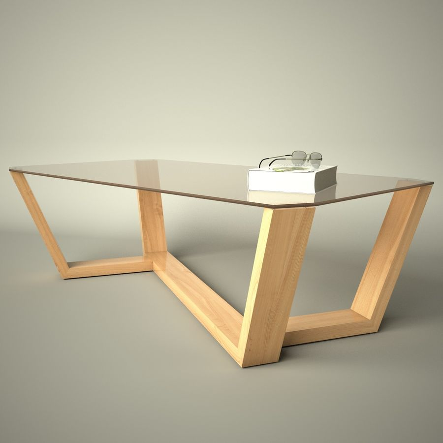 Mesa de café design royalty-free 3d model - Preview no. 14